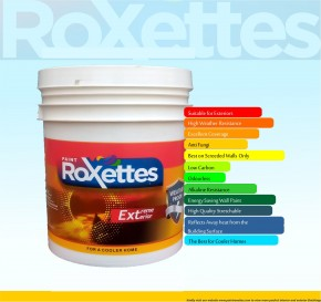 Roxettes Extreme Weather Proof